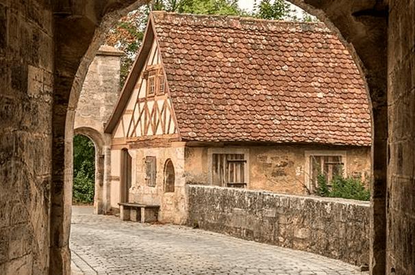 Los tintoreros en la Edad Media