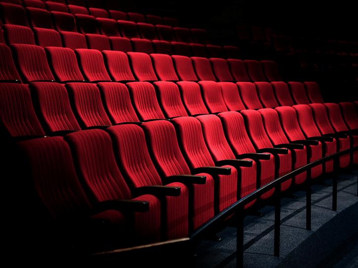 Asientos de salas de teatro